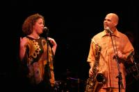 Me and my sister Zoe on stage at Yoshi's Oakland.
